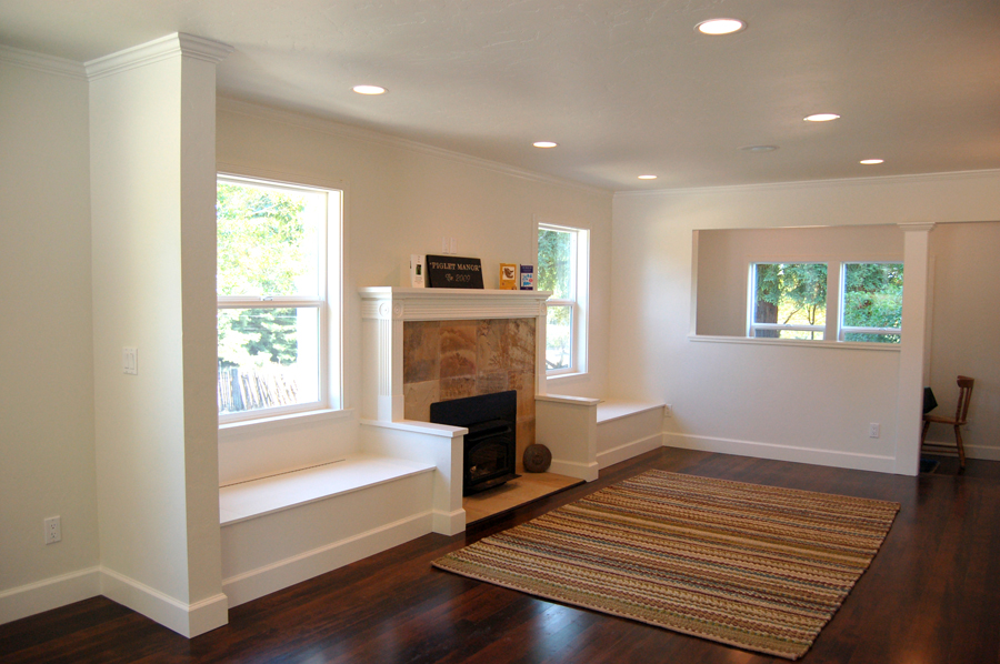 Santa Rosa Cute Cozy Whole Home Remodel Livingroom Leff Construction Design Build
