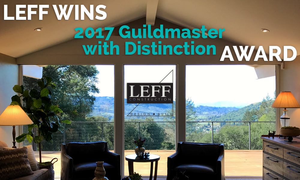 LEFF wins Guildmaster with Distinction Award from GuildQuality