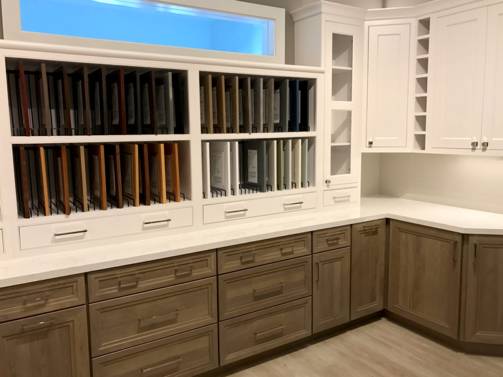 Leff design center features new kitchen display leff for Kitchen display