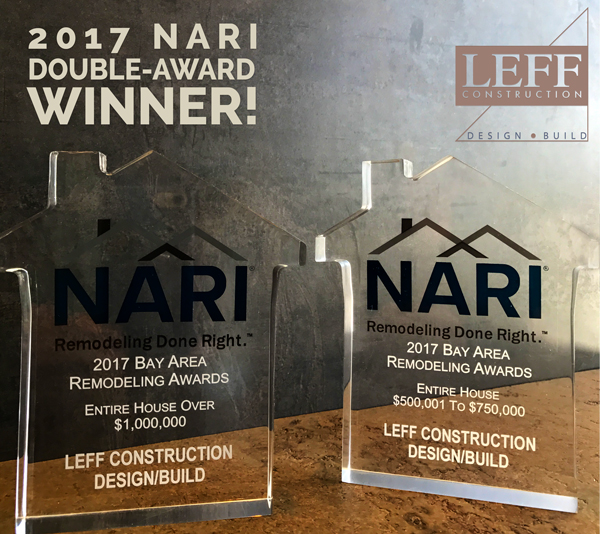 NARI Remmie Winner LEFF Construction Design Build
