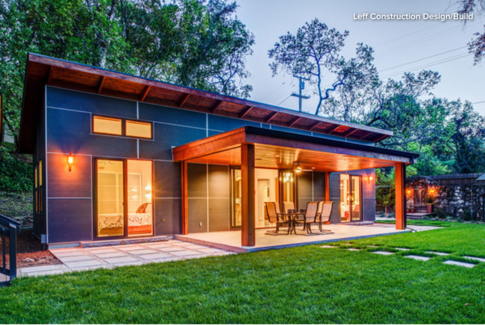 LEFF Contemporary New Home in Glen Ellen