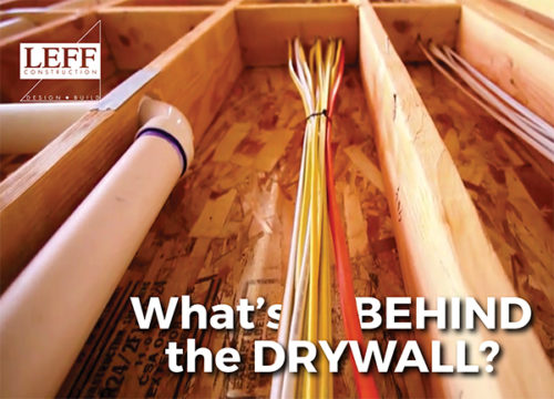 FREE Workshop by LEFF - What's Behind the Drywall?