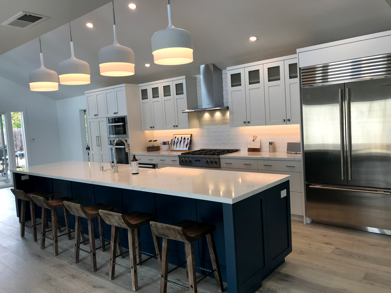 Kenwood Contemporary Wine Country Kitchen Remodel Leff Construction Design Build